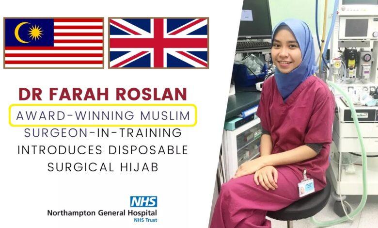 Muslim Doctor Farah Roslan invents disposable hijab