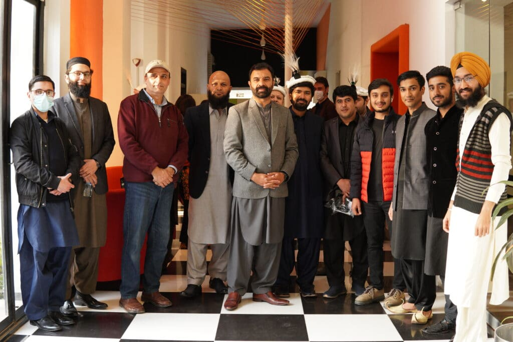 Ejad Labs Team with I.T Minister KP