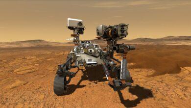 NASA landing on mars